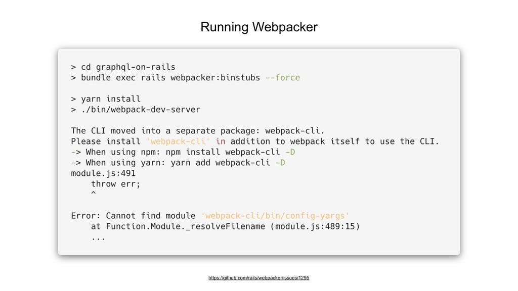 Running Webpacker https://github.com/rails/webp...