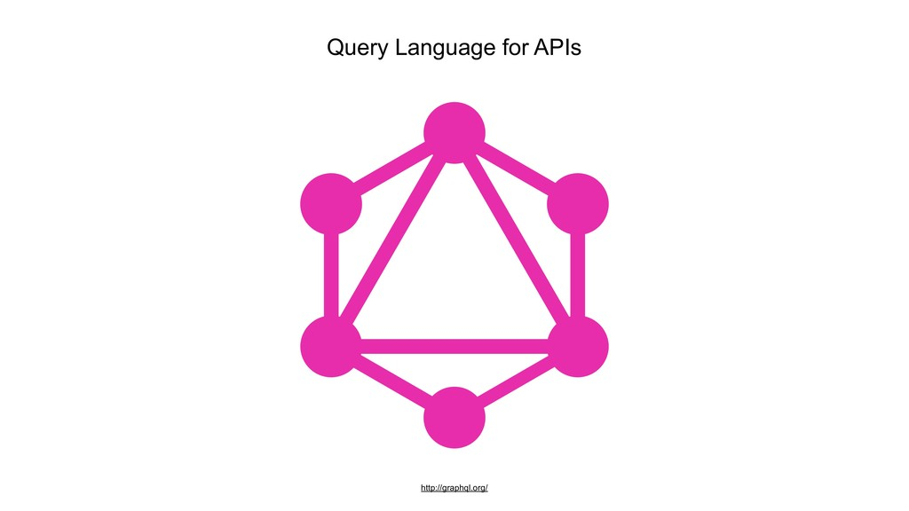 Query Language for APIs http://graphql.org/
