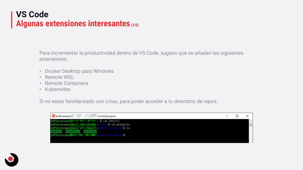 VS Code Algunas extensiones interesantes(1/3) P...