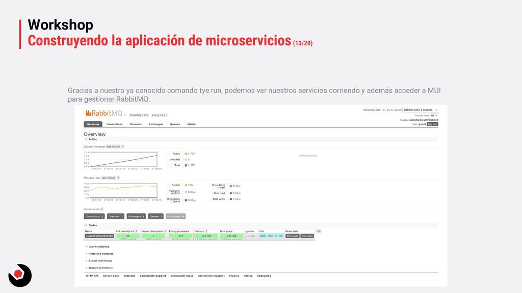 Workshop Construyendo la aplicación de microser...