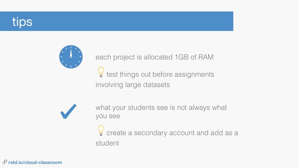 each project is allocated 1GB of RAM tips  crea...