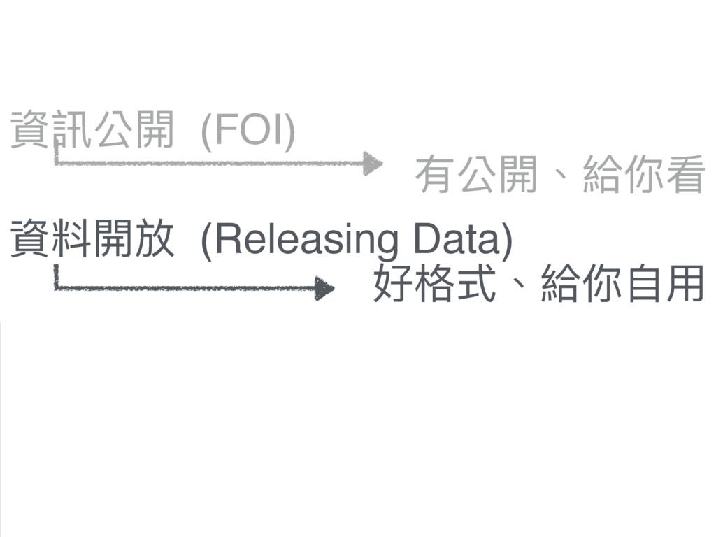 虻懱獍樄 (FOI) 虻碘樄硯 (Releasing Data) 樄硯虻碘 (Open Dat...