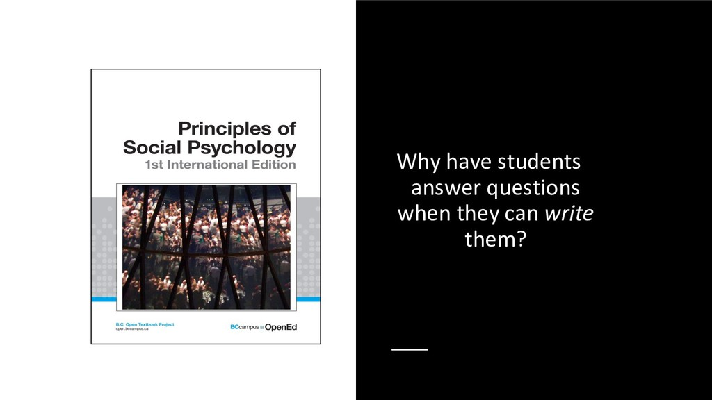 Why have students answer questions when they ca...
