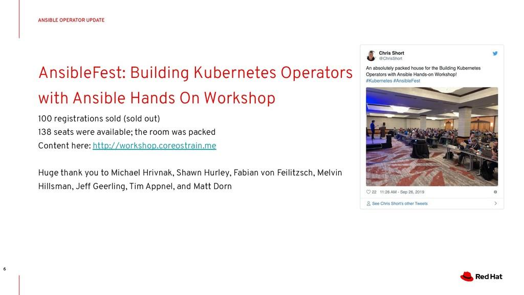 CONFIDENTIAL Designator AnsibleFest: Building K...