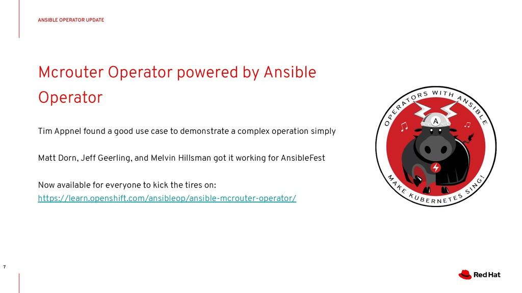 CONFIDENTIAL Designator Mcrouter Operator power...