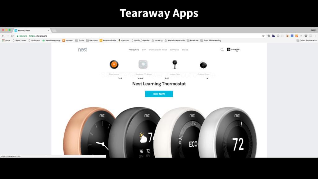 Tearaway Apps