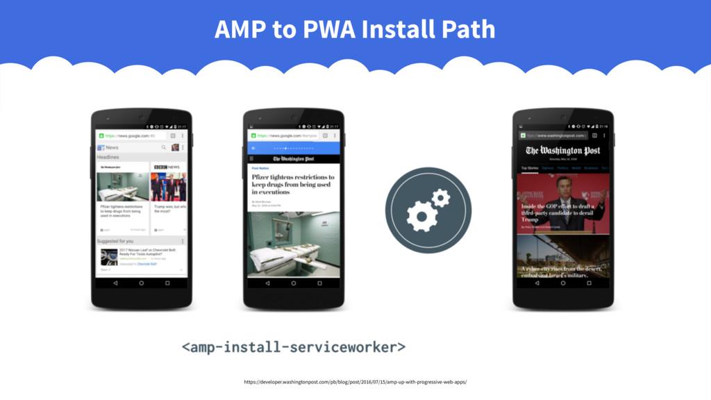 AMP to PWA Install Path https://developer.washi...