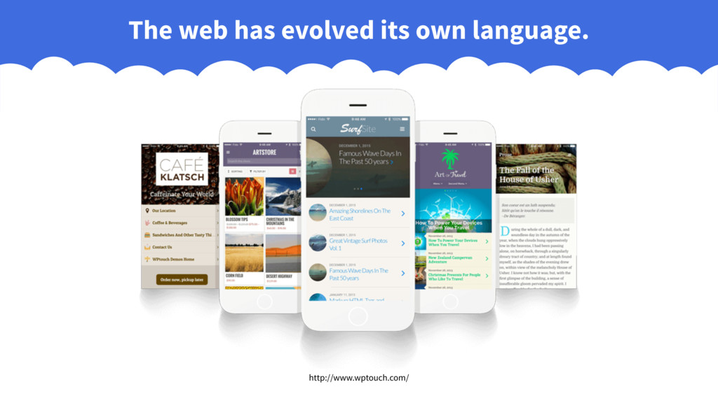 The web has evolved its own language. http://ww...