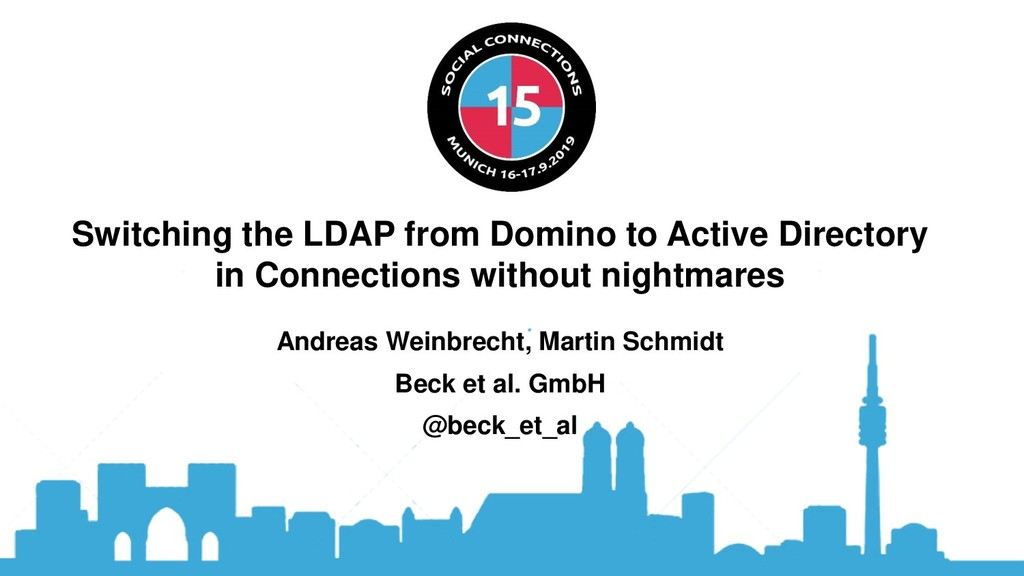 Switching the LDAP from Domino to Active Direct...