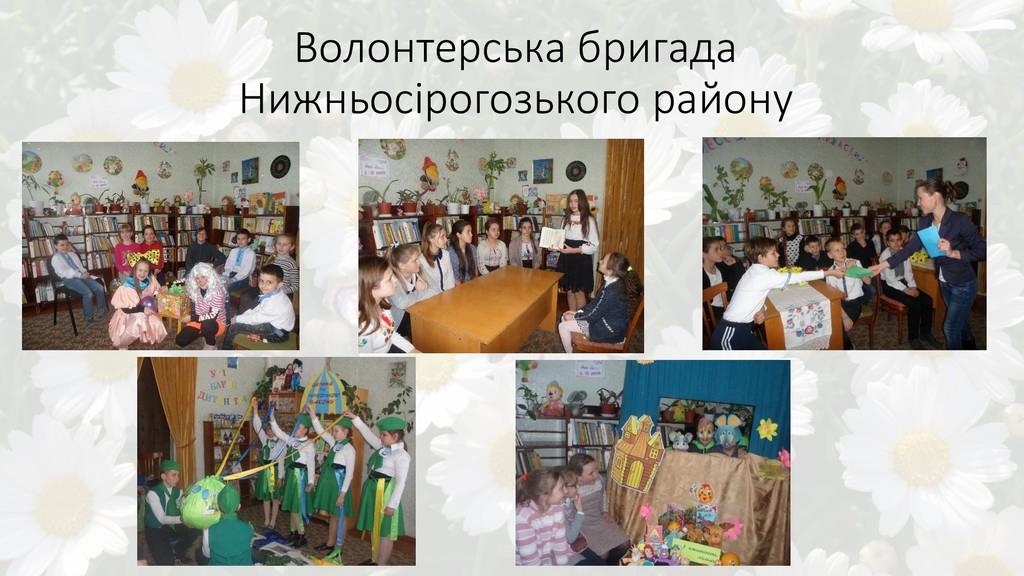 Волонтерська бригада Нижньосірогозького району