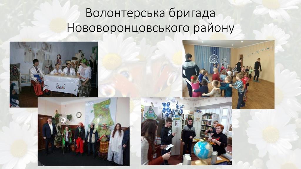 Волонтерська бригада Нововоронцовського району