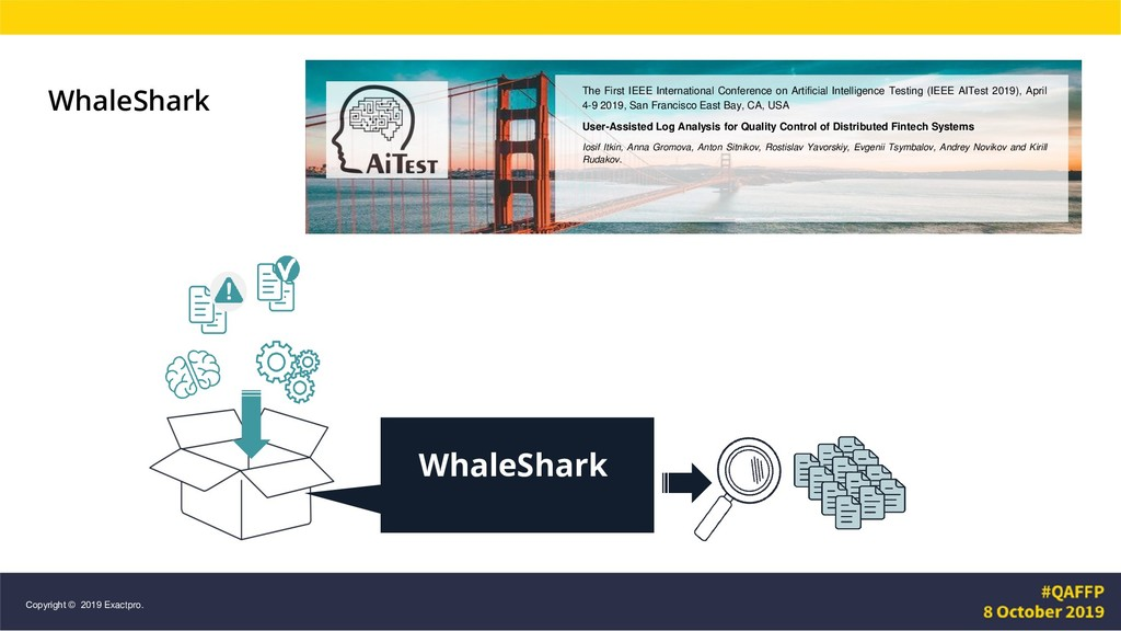 WhaleShark WhaleShark The First IEEE Internatio...