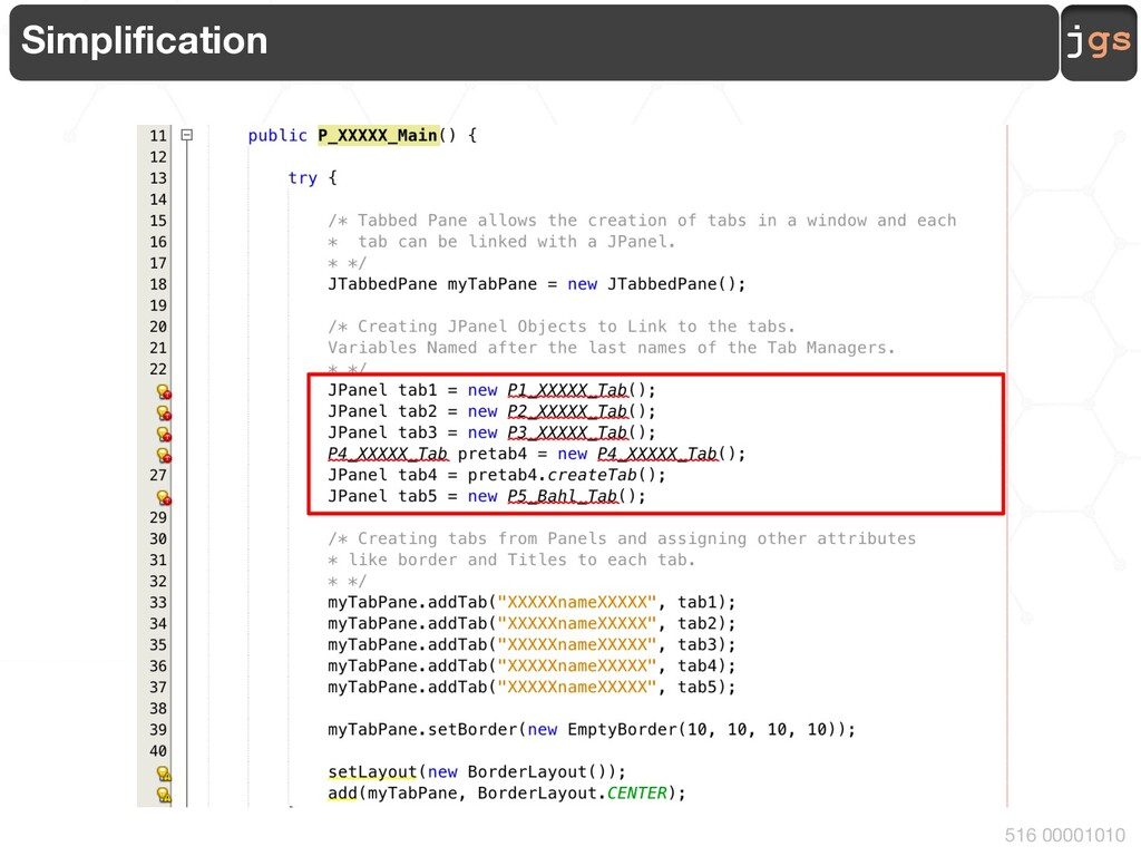 jgs 516 00001010 Simplification