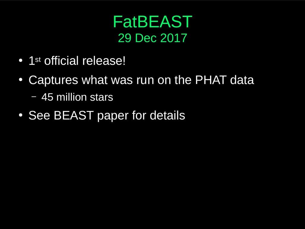 FatBEAST 29 Dec 2017 ● 1st official release! ● ...