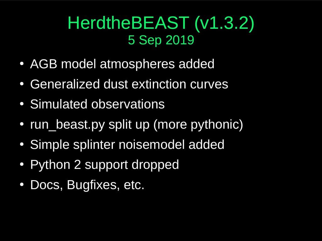 HerdtheBEAST (v1.3.2) 5 Sep 2019 ● AGB model at...