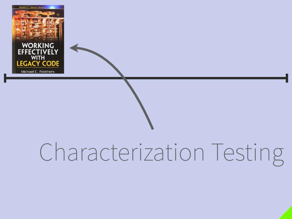 Characterization Testing