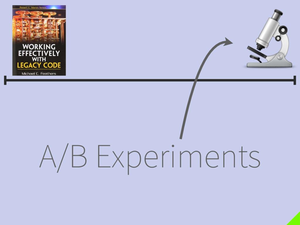 A/B Experiments