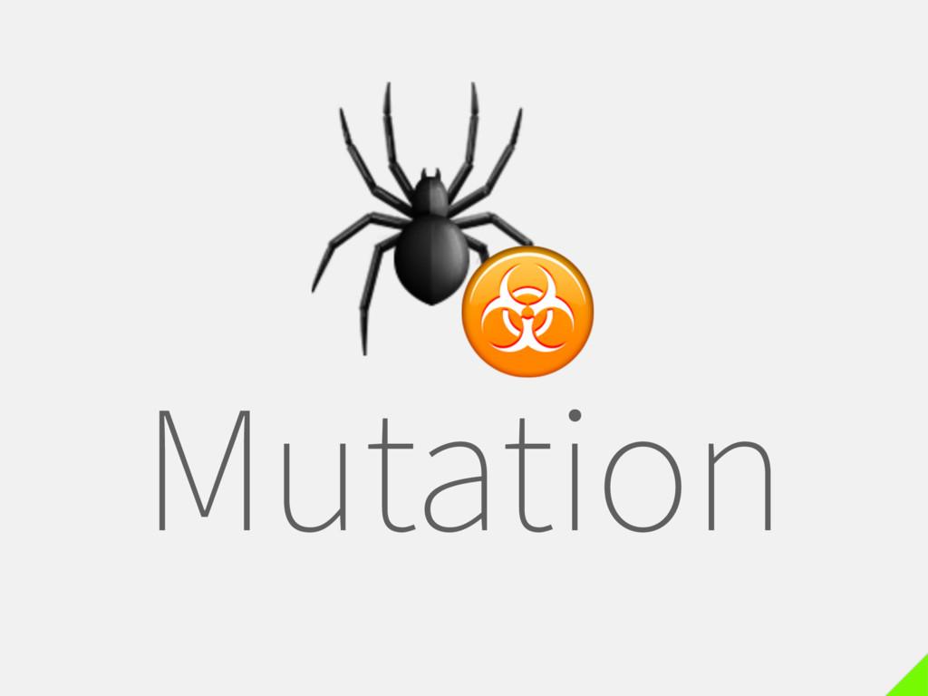 Mutation  ☣