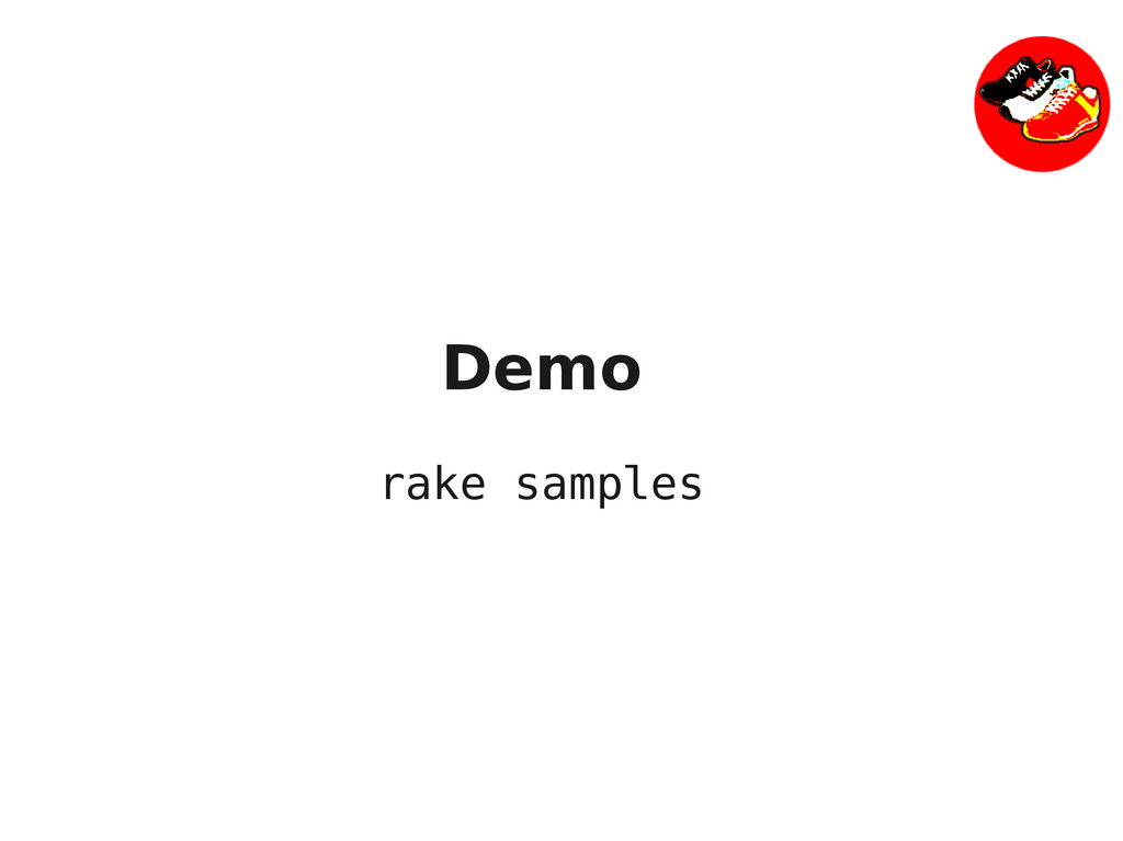 Demo rake samples
