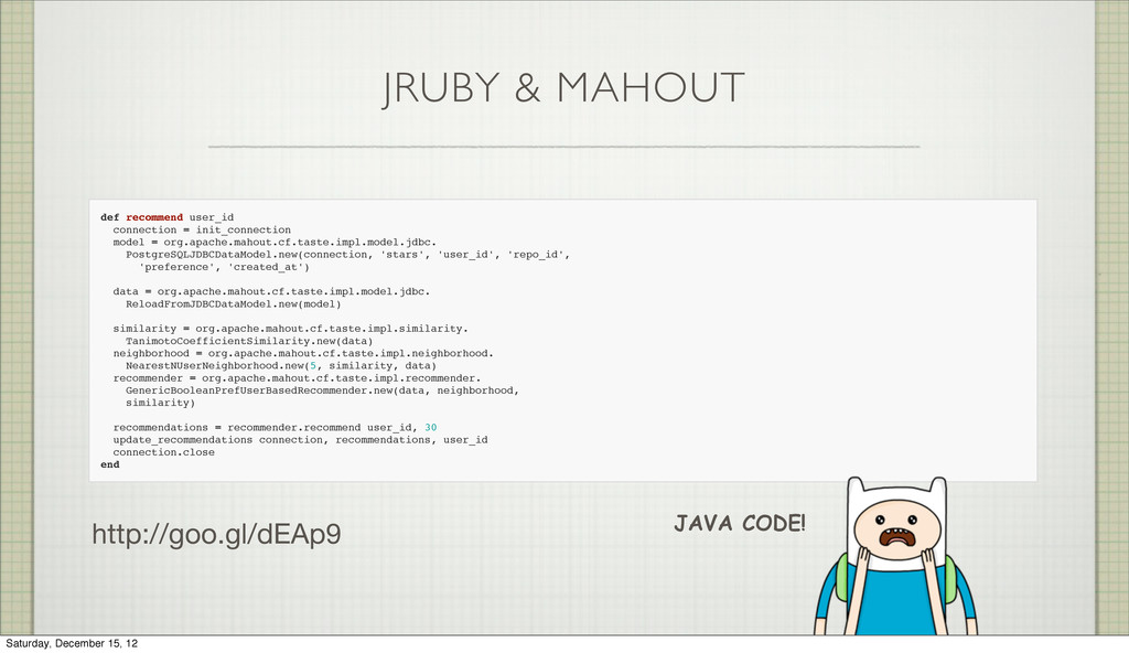 JRUBY & MAHOUT def recommend user_id connection...