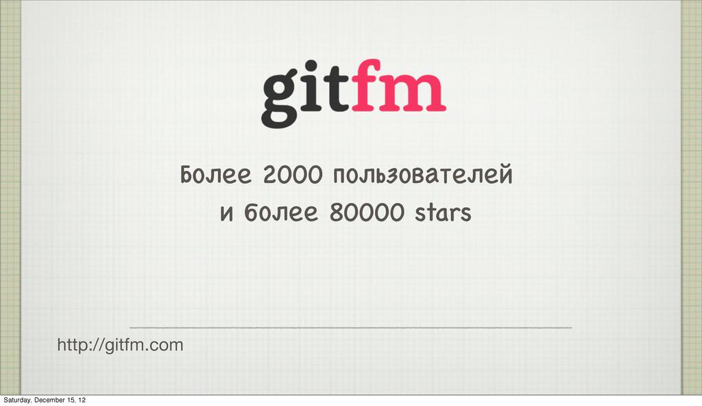 http://gitfm.com Более 2000 пользователей и бол...