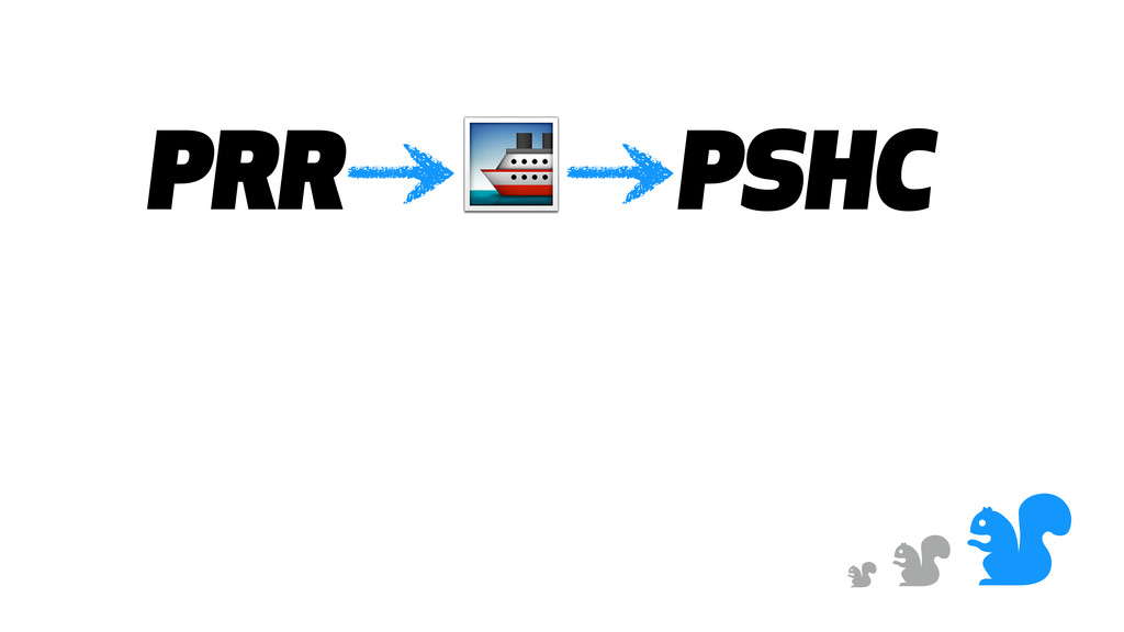 & & & PRR  PSHC