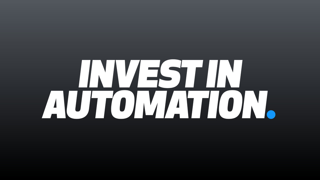 INVEST IN