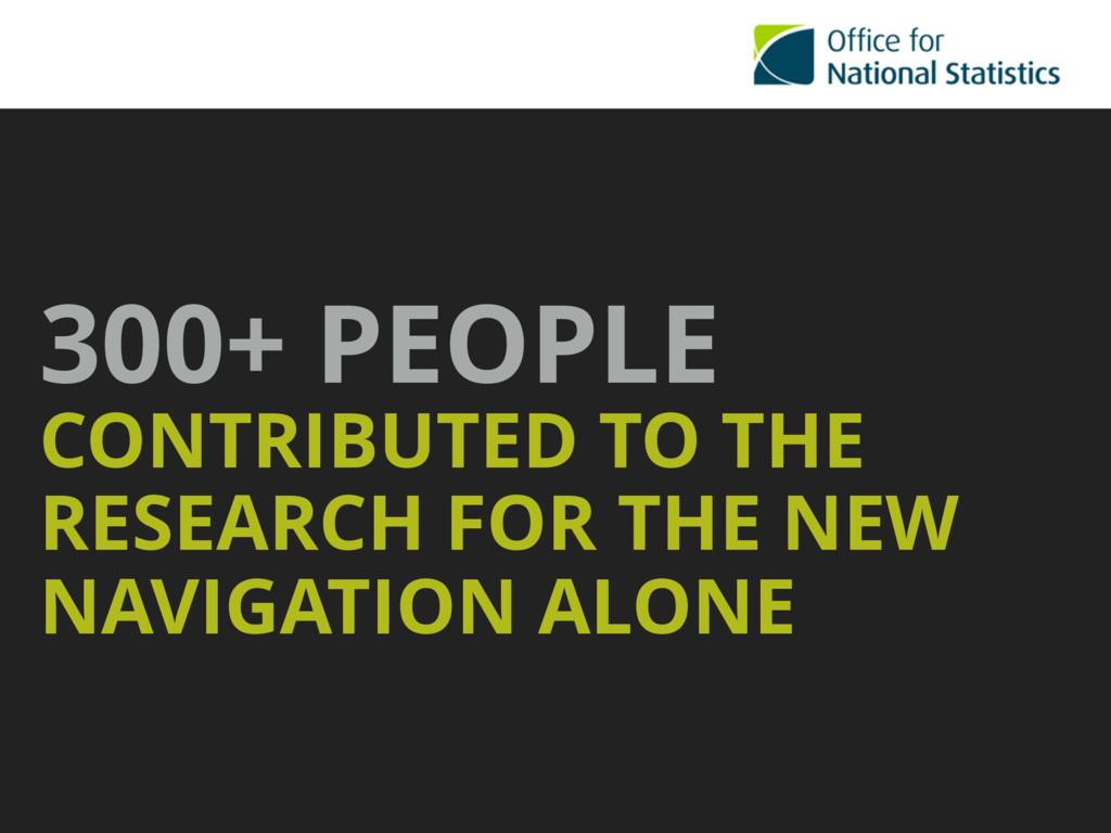 300+ PEOPLE CONTRIBUTED TO THE RESEARCH FOR TH...