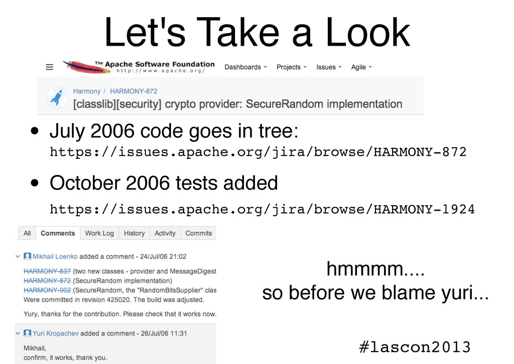 @ngalbreath #lascon2013 Let's Take a Look • Jul...