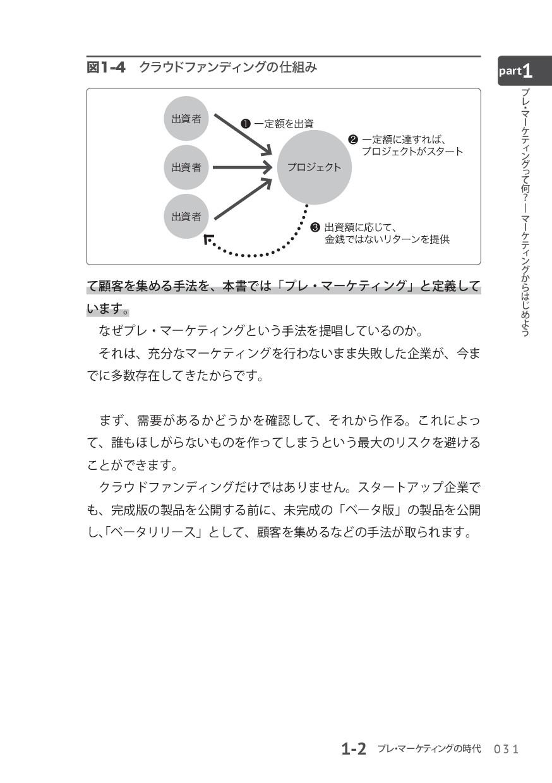て顧客を集める手法を、本書では「プレ・マーケティング」と定義して います。  なぜプレ・マーケ...