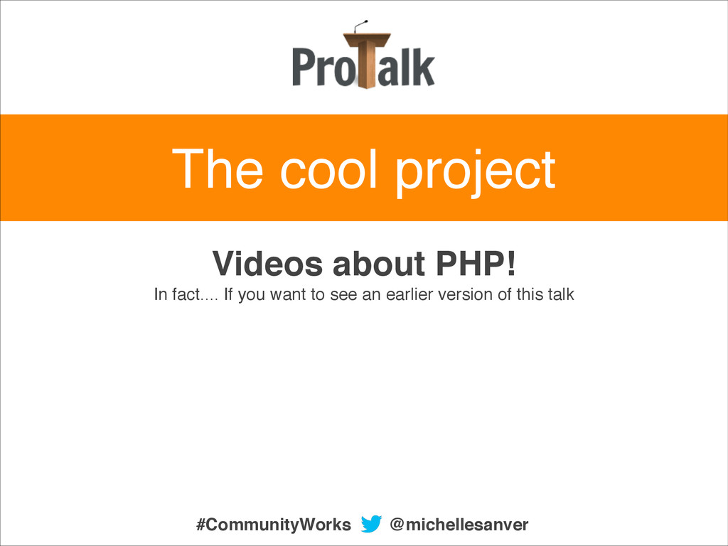 Videos about PHP!! In fact.... If you want to s...