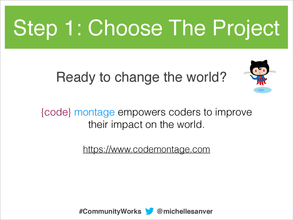 Ready to change the world? https://www.codemont...