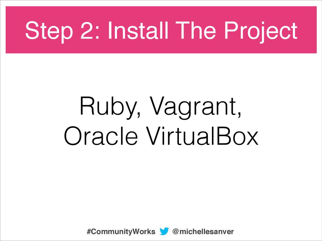 Ruby, Vagrant, Oracle VirtualBox Step 2: Instal...
