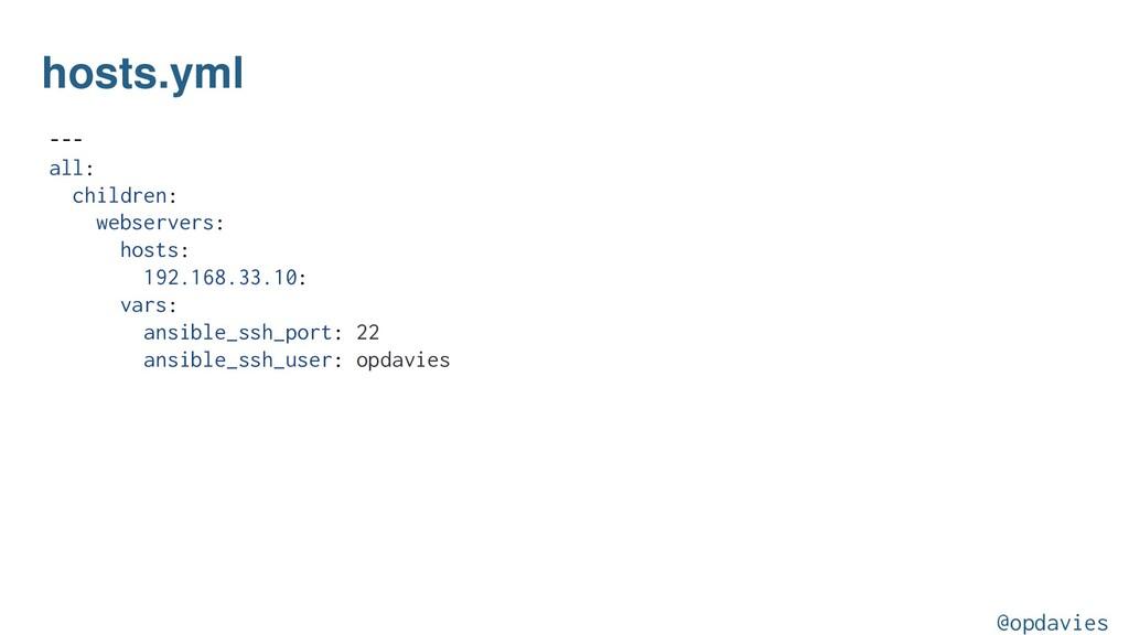 hosts.yml --- all: children: webservers: hosts:...