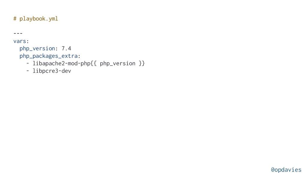 # playbook.yml --- vars: php_version: 7.4 php_p...