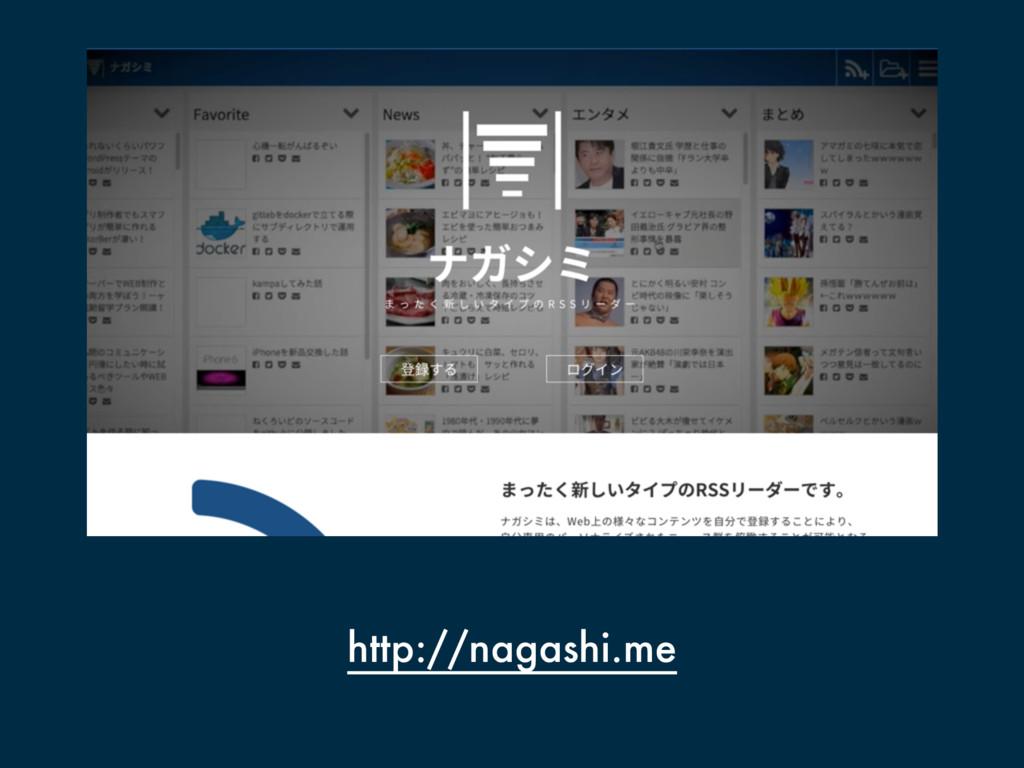 http://nagashi.me
