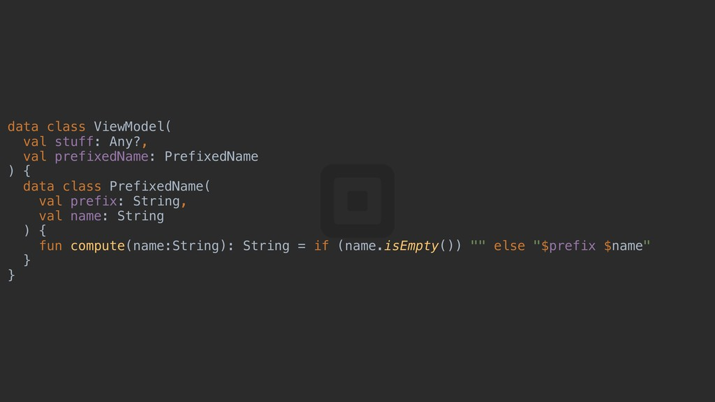 data class ViewModel( val stuff: Any?, val pref...
