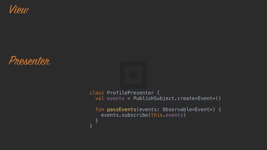 presenter.viewModels() .subscribe { viewModel -...