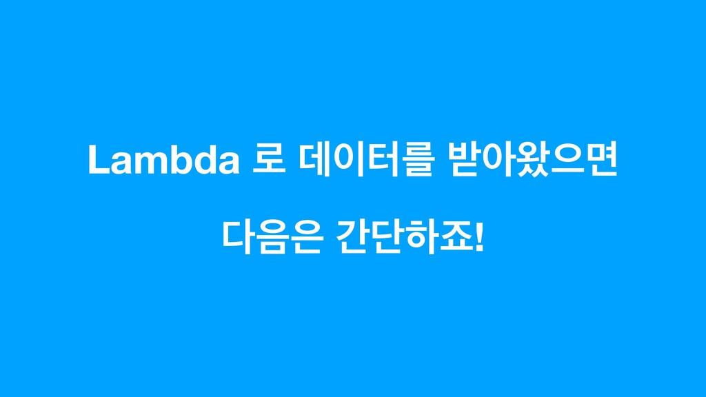 Lambda ۽ ؘఠܳ ߉ই৳ਵݶ  рױೞભ!