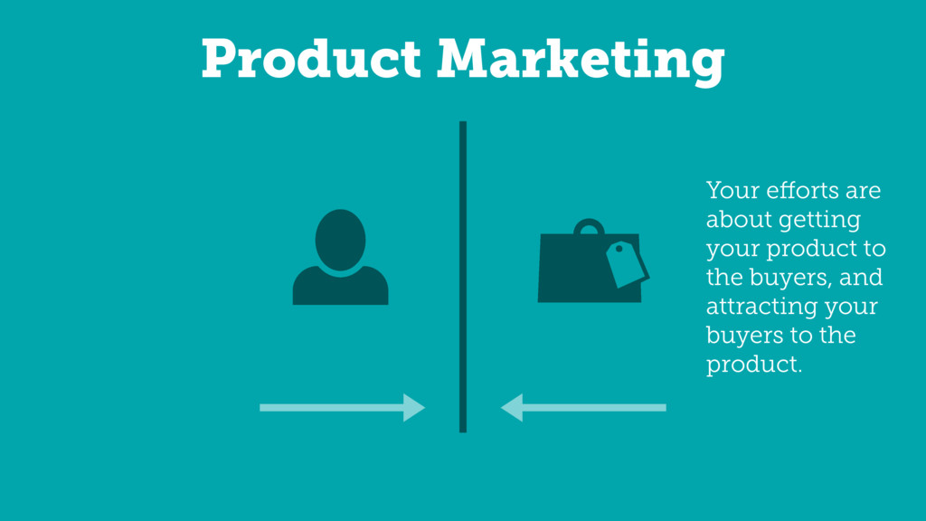 Product Marketing Your efforts are about getting...