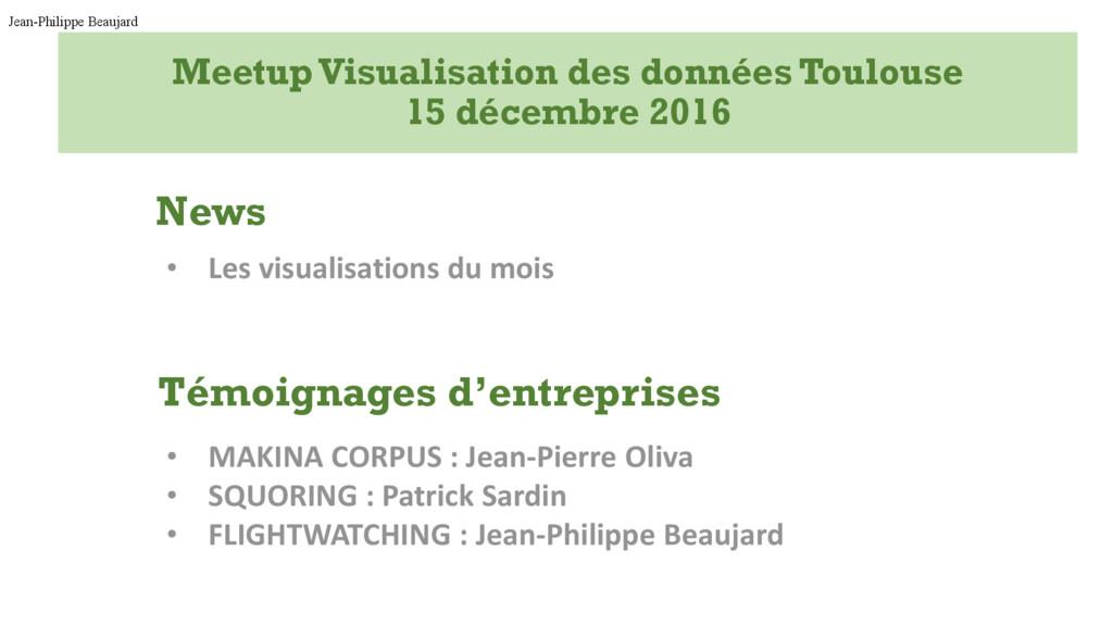 MeetupVisualisation des données Toulouse 15 déc...