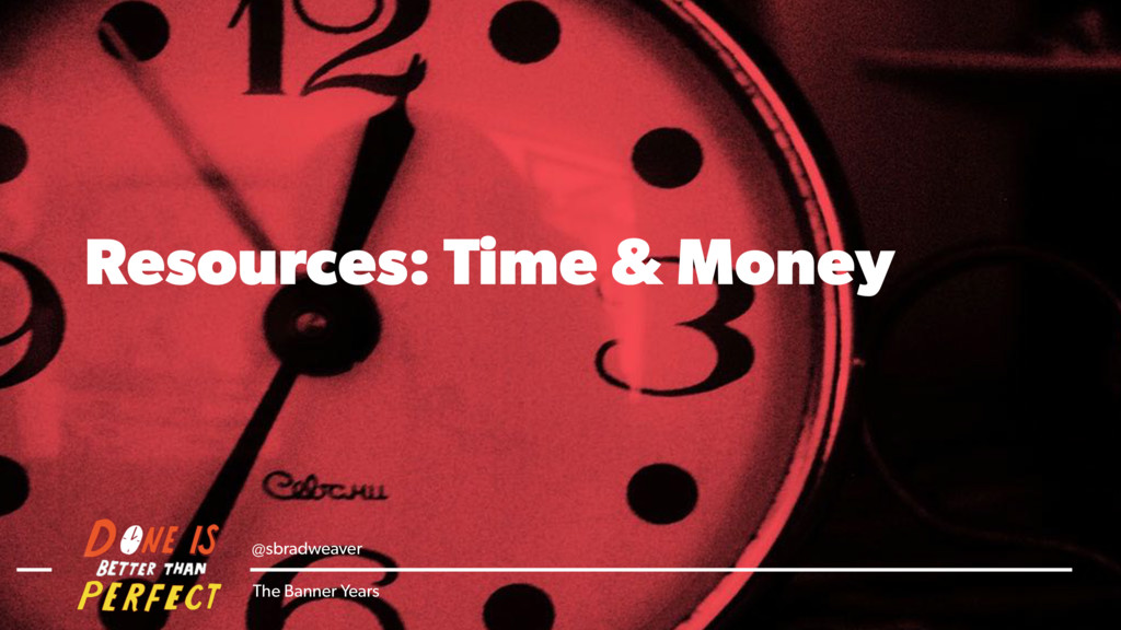 @sbradweaver The Banner Years Resources: Time &...