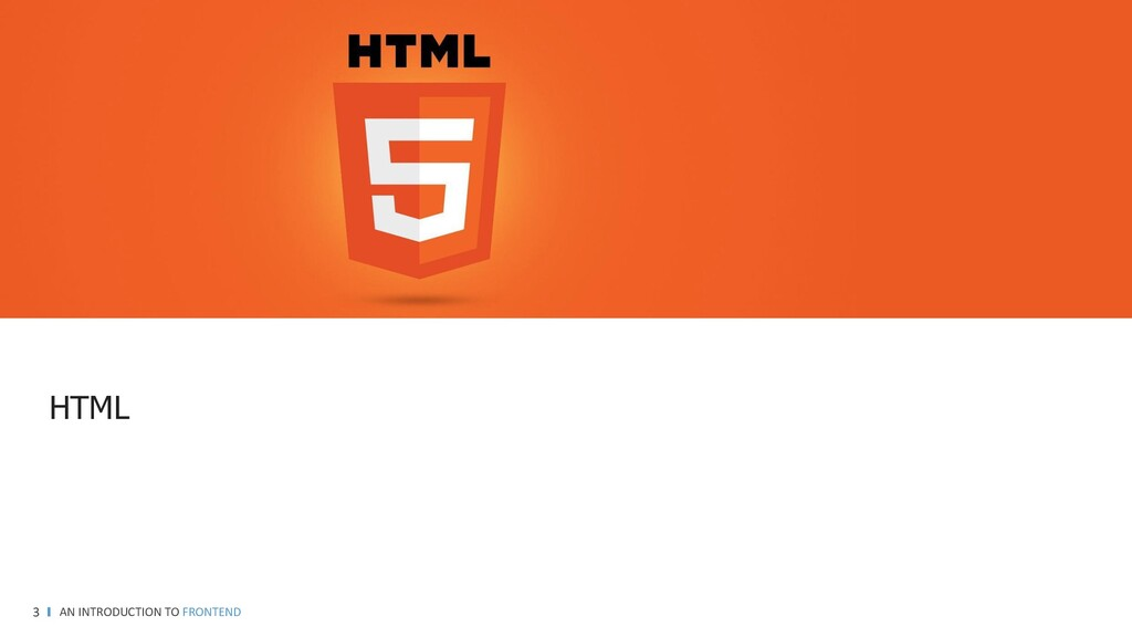 GOAL AN INTRODUCTION TO FRONTEND 3 https://git....