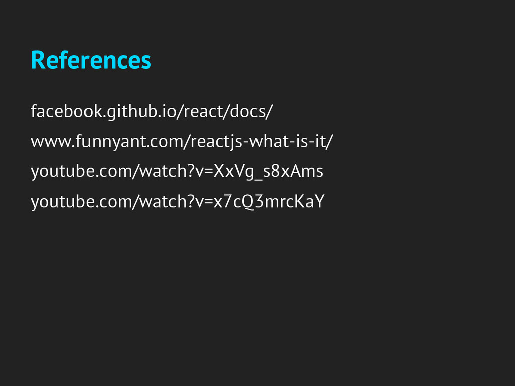 References facebook.github.io/react/docs/ www.f...