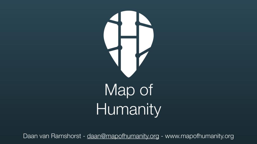 Daan van Ramshorst - daan@mapofhumanity.org - w...