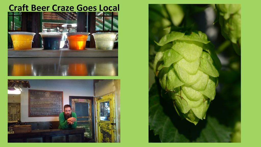 Craft Beer Craze Goes Local