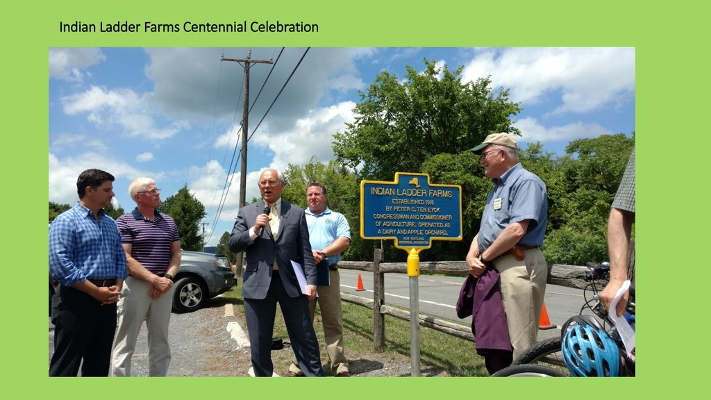 Indian Ladder Farms Centennial Celebration