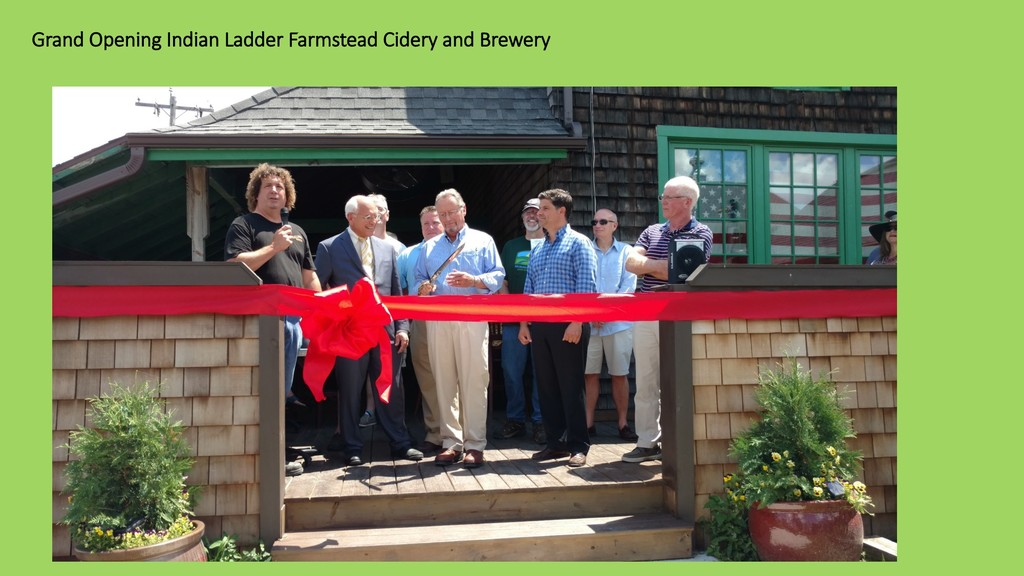 Grand Opening Indian Ladder Farmstead Cidery an...