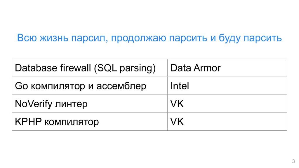 3 Database firewall (SQL parsing) Data Armor Go...