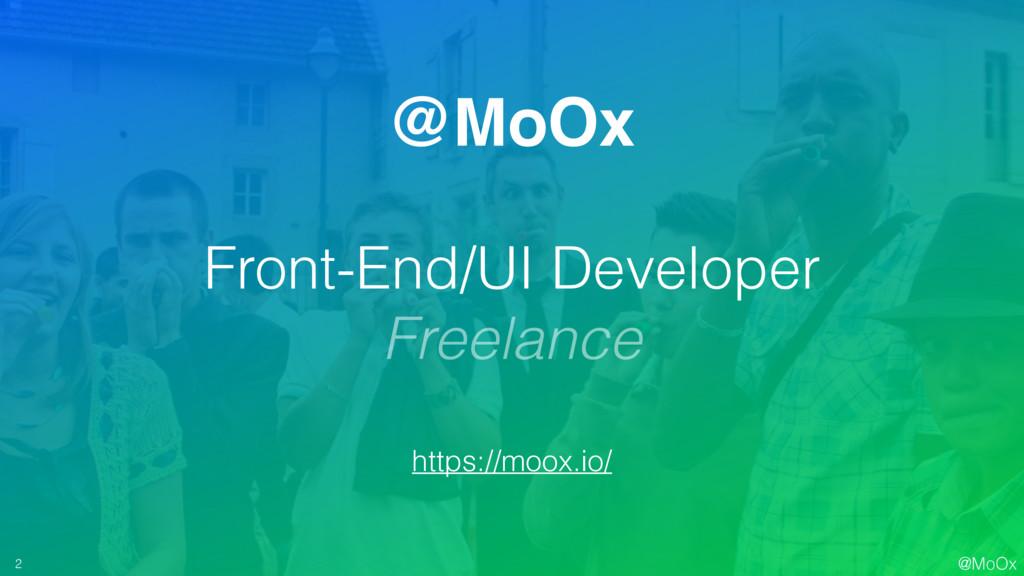 @MoOx @MoOx Front-End/UI Developer Freelance ht...
